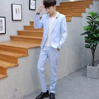Suit Fashion City Oberdasa white M routine 832--115 Polyester 95% polyurethane elastic fiber (spandex) 5% Autumn of 2018 Pure e-commerce (online only)