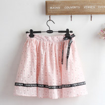 skirt Summer 2021 Average size Pink Short skirt Sweet Natural waist A-line skirt Animal pattern Type A Under 17 51% (inclusive) - 70% (inclusive) other polyester fiber Lace up, printed 161g / m ^ 2 (including) - 180g / m ^ 2 (including) solar system