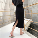 skirt Summer 2020 XS S M L XL 2XL Black (spring summer long 78cm) black (spring summer medium 68cm) Mid length dress Versatile High waist skirt Solid color Type H 18-24 years old YMS-N414 More than 95% Yamais / yamas other Other 100% Pure e-commerce (online only)