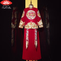 National Costume Making clothes with flowers S M L XL XXL D Yufan - men's wear Tang costume T568 New polyester fiber 100% wedding youth Autumn of 2019 Exclusive payment of tmall