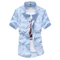 shirt Youth fashion Sorbonne card M L XL XXL XXXL Thin money square neck Short sleeve Self cultivation Other leisure summer  CX-10 o1 teenagers Polyester 100% Youthful vigor 2020 stripe Spring 2017 polyester fiber Quilting Pure e-commerce (online only) More than 95%