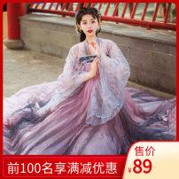 Hanfu 81% (inclusive) - 90% (inclusive) Spring of 2019 S,M,L,XL,XXL polyester fiber