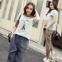 Fashion suit Summer 2021 S,M,L,XL,XXL 18-25 years old Other / other 96% and above cotton