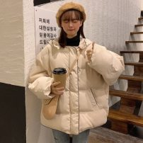 Cotton padded clothes Apricot, blue, brown One size fits all, XXXs pre-sale Winter of 2019 Other / other Medium length Long sleeves thickening commute Korean version 30% and below 18-24 years old
