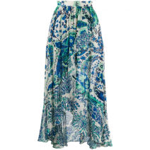 skirt Summer 2020 40 it, inventory is not allowed, please consult customer service blue High waist F14818795 More than 95% TWIN-SET other