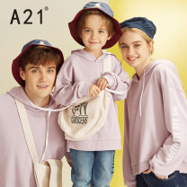 Parent child fashion A family of three Male and female A21 spring and autumn leisure time routine Solid color Sweater / sweater cotton L M S XL XS Cotton 69% polyester 31% Class B Autumn 2020 Chinese Mainland