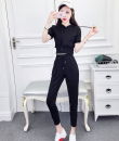 Casual suit Summer of 2018 White Black Pink Red S genuine 145-155 ml 18-25 years old one thousand nine hundred and thirty-three Zhenyaluo 31% (inclusive) - 50% (inclusive)