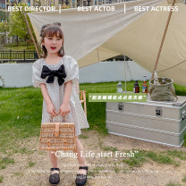 Dress white , Rice red love female Other / other 80cm,90cm,100cm,110cm,120cm Other 100% summer Korean version Short sleeve Dot other other AUT1519 12 months, 3 years, 6 years, 18 months, 2 years, 5 years, 4 years Chinese Mainland Zhejiang Province Huzhou City