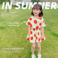 suit Other / other Red tomato suit 80cm,90cm,100cm,110cm,120cm,130cm,140cm female summer leisure time 2 pieces routine There are models in the real shooting Socket nothing other other AUT1514 Other 100% Chinese Mainland Zhejiang Province Huzhou City