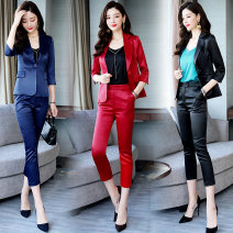 Fashion suit Spring 2021 S,M,L,XL,2XL,3XL Red, blue, black, pink, champagne rice 25-35 years old Other / other
