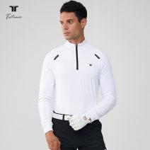 Golf apparel White, black, red, sapphire S,M,L,XL,XXL male Teetimes Long sleeve T-shirt TEE2030