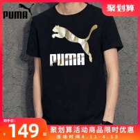 Sports T-shirt Puma / puma 170/92A/S 175/96A/M 180/100A/L 185/104A/XL 190/108A/XXL Short sleeve male one hundred and ninety-nine Crew neck routine ventilation Summer 2020 Brand logo Sports & Leisure Sports life cotton yes