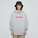 Sweater Youth fashion wassup Sapphire blue, white, sky blue, green, hemp gray, carbon black S,M,L,XL,2XL Solid color Socket routine Hood autumn easy leisure time teenagers tide routine flannelette Cotton 100% cotton printing washing More than 95% Mingji thread patch bag street Drawstring