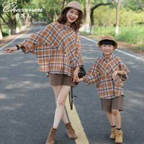 Parent child fashion A family of three neutral Checcivan spring and autumn routine lattice shirt Cotton 100% Class B Autumn of 2018 12 months 18 months 2 years 3 years 4 years 5 years 6 years 7 years 8 years 9 years 10 years 11 years 12 years 13 years 14 years 3 months 6 months 9 months