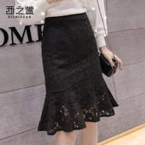 skirt Spring of 2019 S M L XL 2XL Black apricot black 0 apricot 0 apricot 1 Black 1 black and white grid kaqige Mid length dress commute High waist A-line skirt Solid color Type A 25-29 years old XZX520133657 More than 95% The west of Xuan other Korean version Other 100%