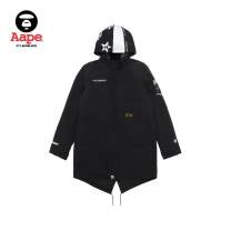 Jacket Aape Youth fashion Black army green S M L XL easy Other leisure Other 100% Wear out Medium length Winter of 2018 Same model in shopping mall (sold online and offline)