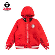 Cotton padded clothes Black red white XXS XS Winter of 2018 Aape Long sleeves routine street Hood routine other AAPJKW7261XXB 18-24 years old Same model in shopping mall (sold online and offline) Other 100% Sports & Leisure