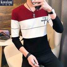 T-shirt Youth fashion white routine L Kava Wolf KWL-85029 Cotton 94.5% polyurethane elastic fiber (spandex) 5.5% Cotton wool Spring of 2018