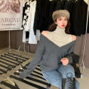 short coat Autumn 2020 S M L Red and grey Long sleeves Medium length thickening singleton  easy commute routine High collar other 18-24 years old ikllo 96% and above Asymmetric hollow thread other wool Other 100% Pure e-commerce (online only)