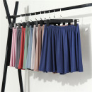 Pajamas / housewear Other / other Black, light blue, Navy, silver gray, pink, light khaki, iron gray, brick red, olive green M 80-110kg, l 110-140kg, XL 140-160kg, XXL 160-180kg female Pant Thin money Leisure home Simplicity Solid color summer rubber string High waist cotton modal  380g