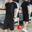 Leisure sports suit summer S,M,L,XL,2XL,3XL,4XL,5XL Short sleeve Other / other shorts youth Sweater A.D212274 cotton 2021 65% cotton, 25% nylon, 10% spandex