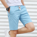 Casual pants Dushi military knife Youth fashion thin Shorts (up to knee) sandy beach Straight cylinder Micro bomb summer youth tide 2019 middle-waisted Straight cylinder Cotton 100% Beach pants Pocket decoration No iron treatment cotton Summer of 2019 Pure e-commerce (online only) More than 95%