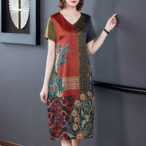 jacket Summer 2020 L XL XXL XXXL XXXXL gules BYLNRJ9030# In the north, Li falls Over 35 years old silk Mulberry silk 97% others 3% Pure e-commerce (online only)
