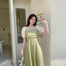Dress Summer 2020 Light green, black M,L,XL,2XL,3XL,4XL