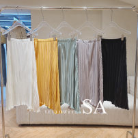 skirt Summer 2021 S, M White, yellow, blue, purple, black 31% (inclusive) - 50% (inclusive) other