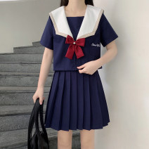 student uniforms Spring 2021, summer 2021 S,M,L,XL,XXL Short sleeve solar system skirt 18-25 years old polyester 31% (inclusive) - 50% (inclusive)