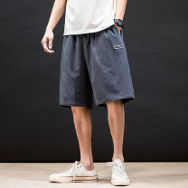 Casual pants Others Youth fashion Green, gray, black M,L,XL,2XL,3XL,4XL,5XL trousers motion easy N3-23-HK20273 tide
