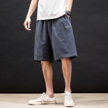 Casual pants Others Youth fashion Green, gray, black M,L,XL,2XL,3XL,4XL,5XL trousers motion easy N3-23-HK20273 tide