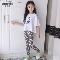 trousers Beenira / berelai female summer trousers leisure time There are models in the real shooting Leggings Leather belt middle-waisted cotton Don't open the crotch Cotton 95% polyurethane elastic fiber (spandex) 5% Class A Summer 2021 Chinese Mainland Zhejiang Province Hangzhou