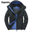 Jacket Superdry Fashion City Black / dark yellow L SM50001LODS Other 100% Fall 2017 Same model in shopping mall (sold online and offline)