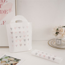Gift bag / plastic bag Small 25 * 33 bottom 6 Plastic love Haoxin Small and medium-sized