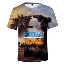 T-shirt Youth fashion Style 1, style 2, style 3, style 4, style 5, style 6, style 7, style 8, style 9, style 10, style 11 routine Others Short sleeve stand collar easy daily summer teenagers 2021 Cartoon animation polyester fiber Cartoon animation More than 95%