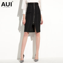 skirt Spring of 2019 S M L XL Black and white [pre-sale 20 days] Middle-skirt street High waist A-line skirt 30-34 years old 19C143825 91% (inclusive) - 95% (inclusive) AUI polyester fiber Polyester 92.9% polyurethane elastic fiber (spandex) 7.1% Pure e-commerce (online only) Europe and America