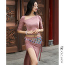 Belly Dance suit (performance dress) Gorgeous and unique S M L female A411 other Autumn of 2019