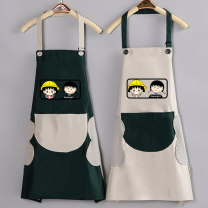apron Sleeveless apron waterproof Cartoon PVC Household cleaning Average size public yes Cartoon