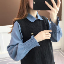 Fashion suit Spring 2020 Average size Grey + light green black + blue dark coffee + rice apricot 18-25 years old Chevensie XFXZG1SD32 Other 100% Pure e-commerce (online only)