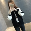 short coat Autumn of 2019 S M L XL Black Red Green Brown Long sleeves routine routine singleton  easy commute routine Crew neck zipper shape 18-24 years old Chevensie 96% and above XFX19920 other Other 100% Pure e-commerce (online only)