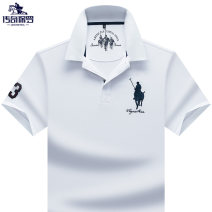 Polo shirt Legendary Paul Business gentleman thin S 48/170/M 50/175/L 52/180/XL 54/185/XXL 56/190/3XL 4XL 5XL standard business affairs summer Short sleeve CQ19B9922 Business Casual routine youth Cotton 95% polyurethane elastic fiber (spandex) 5% other cotton No iron treatment Embroidery