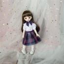 BJD doll zone jacket 1/6 Over 14 years old goods in stock Golden line, raspberry black tea skirt, E-sports Girl Skirt A skirt, skirt + socks, skirt + socks + shoes