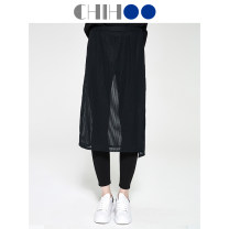 Leggings Spring of 2019 black M L Thin money trousers 25-29 years old Wohu nylon Same model in shopping mall (sold online and offline)