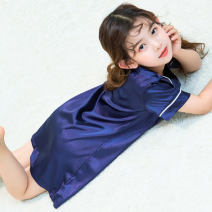 Home skirt / Nightgown a young talented scholar 100 for 85-95cm, 110 for 95-105cm, 120 for 105-115cm, 130 for 115-125cm, 140 for 125-135cm, 150 for 135-145cm, 160 for 145-155cm, adult s for 155-165cm, adult m for 160-170cm Cotton 92.8% polyester 7.2% summer female Class B cotton SQ688