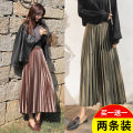 skirt Winter of 2018 S M L XL 2XL 3XL 4XL 5XL Mid length dress Versatile High waist Pleated skirt Solid color Type A 18-24 years old MSL347 91% (inclusive) - 95% (inclusive) Martha ray polyester fiber Polyester fiber 94% polyurethane elastic fiber (spandex) 6% Pure e-commerce (online only)