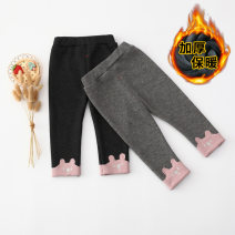 trousers Other / other female 66cm,73cm,80cm,85cm,90cm,95cm,100cm,105cm Black, gray, pink, black gold, army gray, brown black, earth gray, elegant black, tungsten gray, graffiti black, pearlescent gray winter trousers Cartoon Leggings Leather belt middle-waisted cotton Open crotch K2010020 K2010020