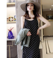 Dress Summer 2020 black S,M,L Mid length dress camisole other other