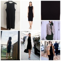 Dress Autumn of 2019 Black Classic Black XS/TP,S/P,M/M,L/G Mid length dress singleton  Sleeveless commute Crew neck Solid color One pace skirt Others Type H 51% (inclusive) - 70% (inclusive) knitting