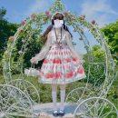 Dress Summer of 2019 Jsk suspender skirt S,L,M Short skirt singleton  Sleeveless Sweet Doll Collar High waist other zipper Princess Dress camisole Type A Other / other 31% (inclusive) - 50% (inclusive) Chiffon hemp Lolita